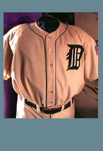 Ty Cobb Uniform